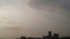 durham cathedral morning
