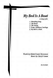 My Bed Is A Boat (Song Cycle)