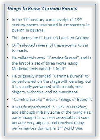 Things To Know Carmina