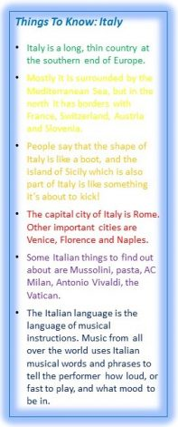 Things To Know Italy
