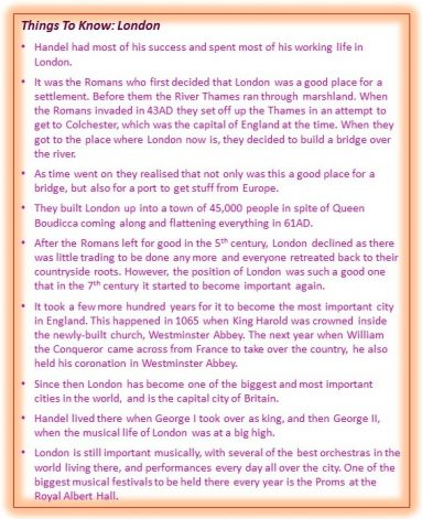 Things To Know London