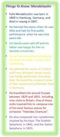 Things To Know Mendelssohn