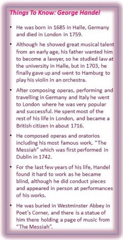 Things to know handel