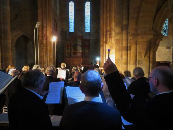 Ascension Day lighting with The Bridge Singers!